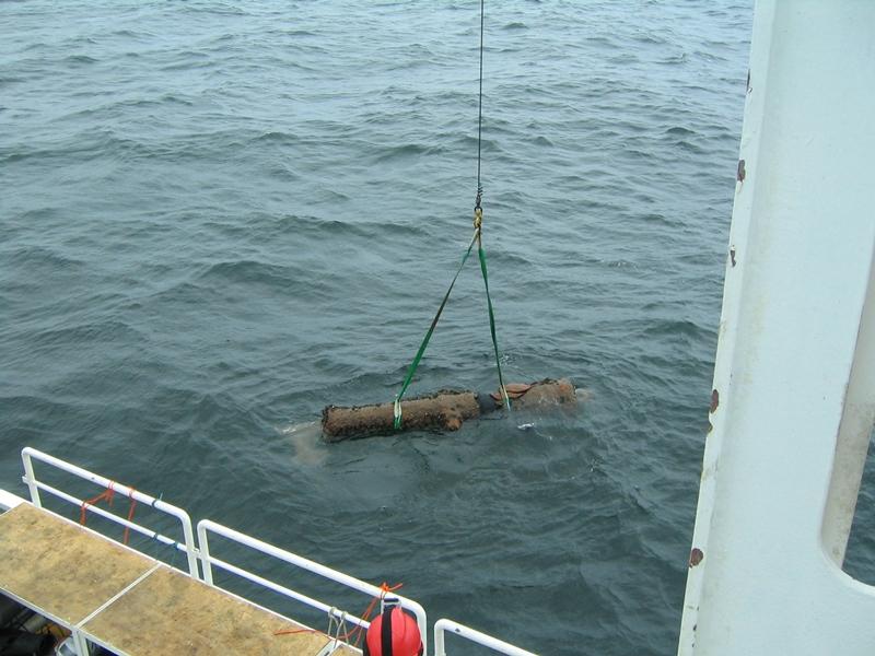 Akcja wydobycia działa z dna Bałtyku